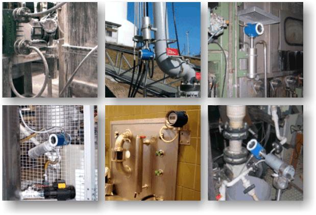 Liquid Density Meter DIMF Bopp & Reuther Installations